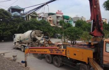 Bê tông thương phẩm tại Ninh Bình